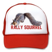 The Rally Squirrel by Randy Mayfield