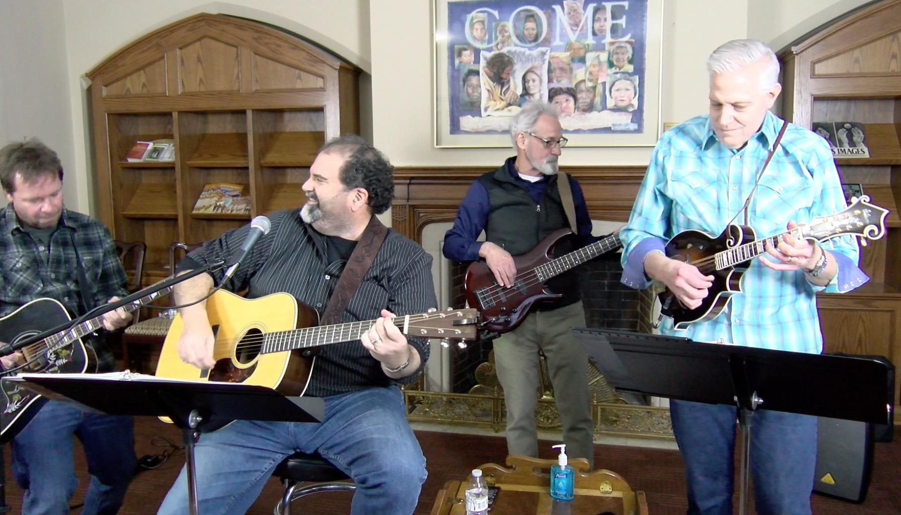 Tim Mauldin, Randy Mayfield, Romondo Davis and Carl Sasse